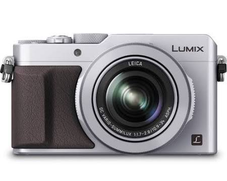 Panasonic Lumix DMC-LX100 12.8 MP Compact Digital Camera - Silver